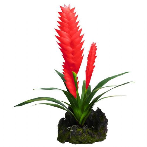LR Bromelia Red, 3x flower 40cm, IF-25 PLP155